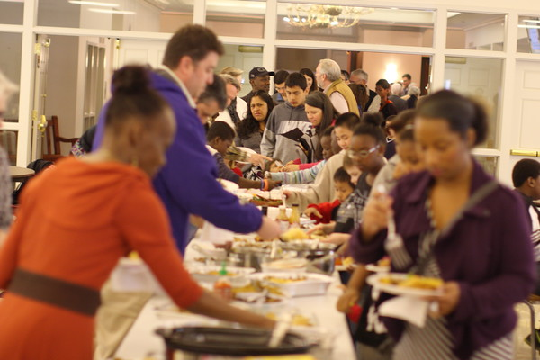 Bring your favorite dish for the multi-cultural fellowship luncheon.
